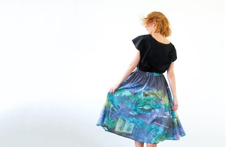 Leap Skirt : 1880