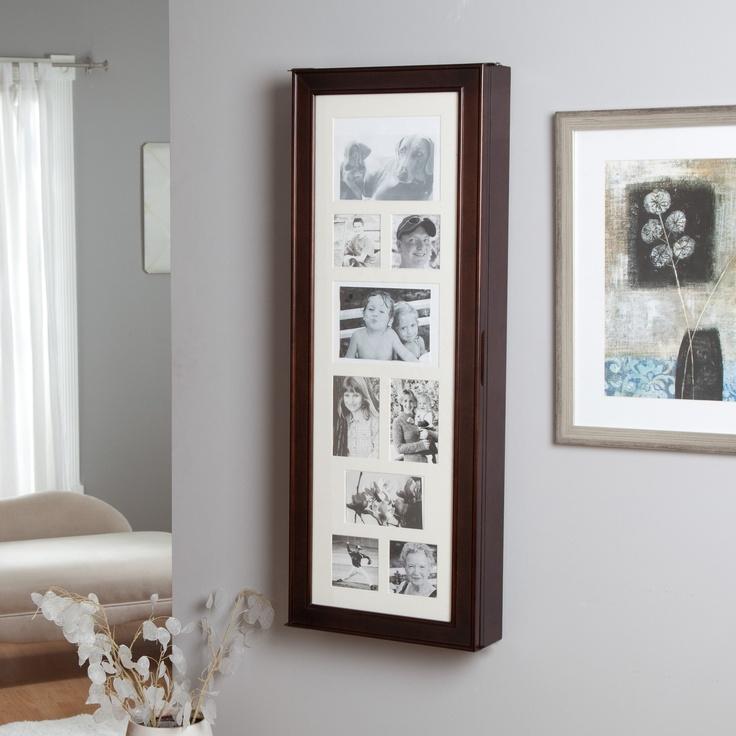 Tri-fold Photo Frame Jewelry organizer