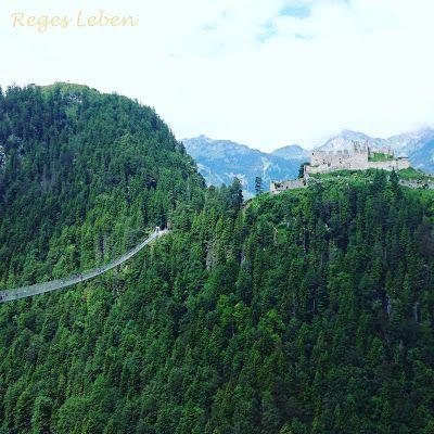 Wandern mit Kindern im Allgäu Burgenwelt Ehrenberg plus Highline 179