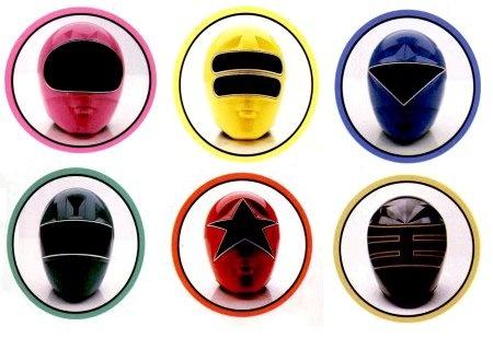Power Rangers Zeo Helmets