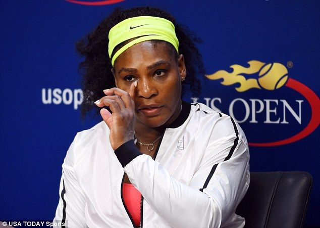 Serena Williams pictured leaving with Drake after shock US Open loss #dailymail