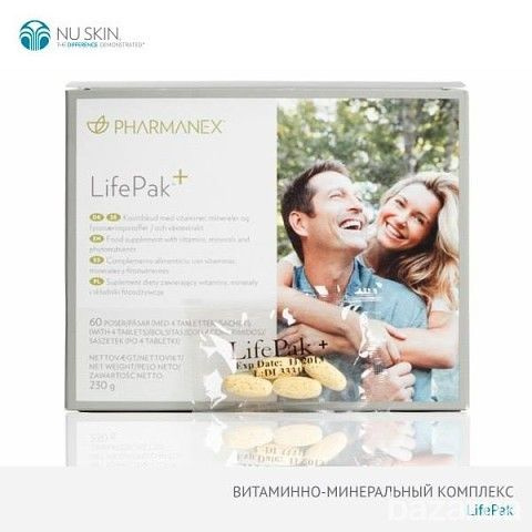 Диетическая добавка ЛайфПак+ LifePak®+ Обеспечит поступление в организм большого количества витаминов и минералов, необходимых для поддержки...  Click on your Country Ordering ID:0002796 Online Catalogue www.nuskin.com/...