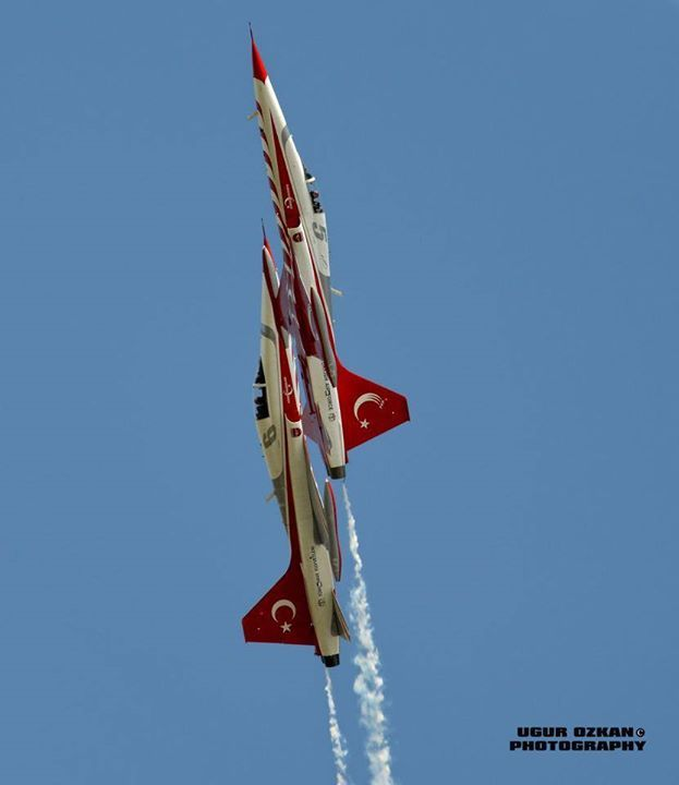 Türk Yıldızları - the Turkish Stars display team