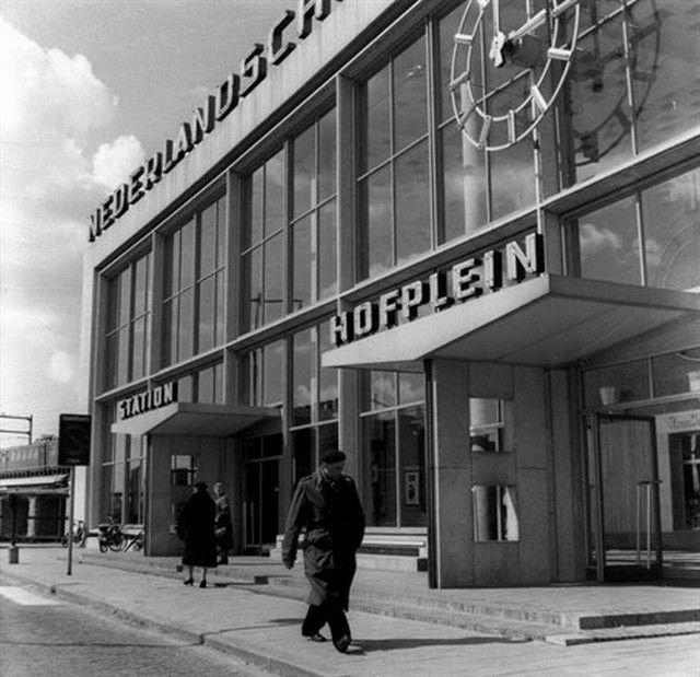 station Rotterdam Hofplein stationsgebouw II (1957)