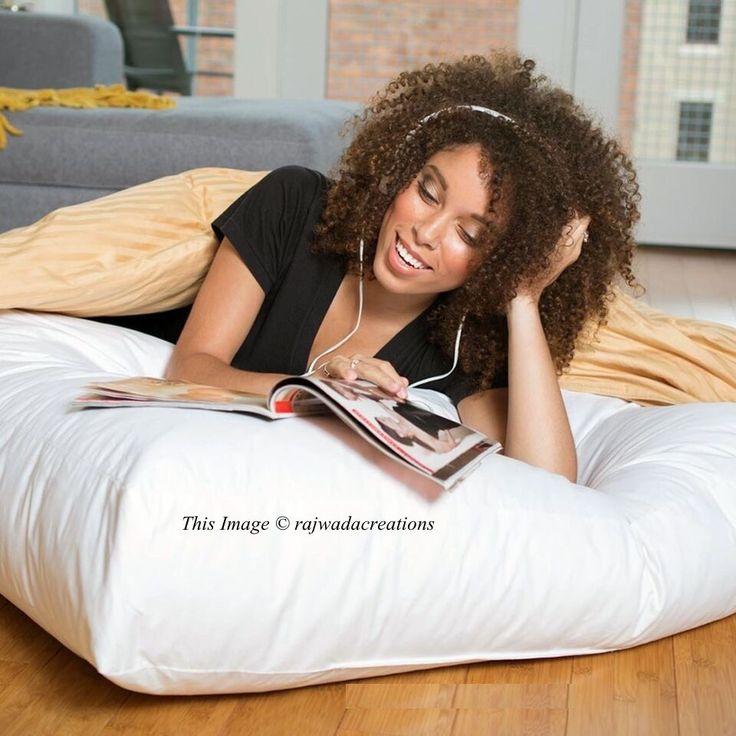 Indian Cushion Inner Pads Mandala Cover Insert Filler Floor Pillow 35x35 Square