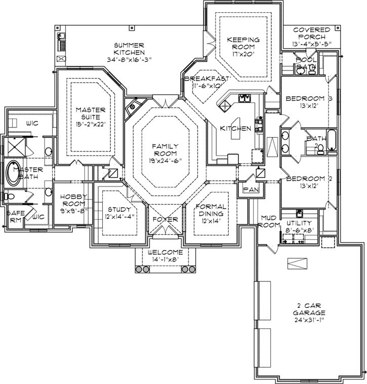 Main floor plan plan maison pinterest plans de for Outillage plan de campagne