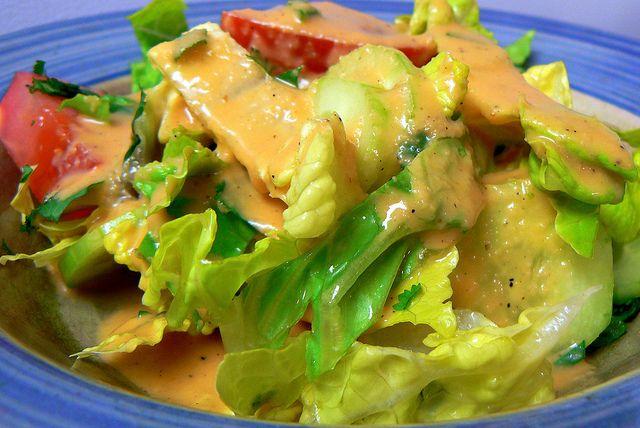 Benihana's amazing creamy ginger salad dressing