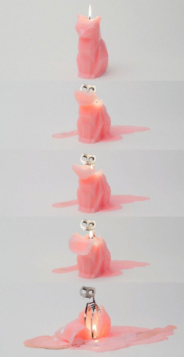 cat-candles, The-Devils-Pet, pyro-pet, vela-de-gato, vela-de-gato-esqueleto, vela-decorativa, velas-geek, por-que-nao-pensei-nisso 1