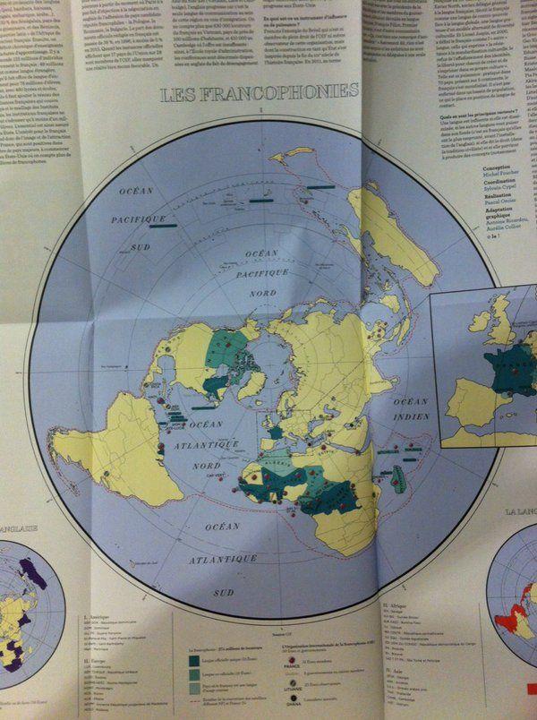 Population Map Australia%0A La carte mondiale de la francophonie  demain dans  Le hebdo   Population et  d  veloppement   Pinterest