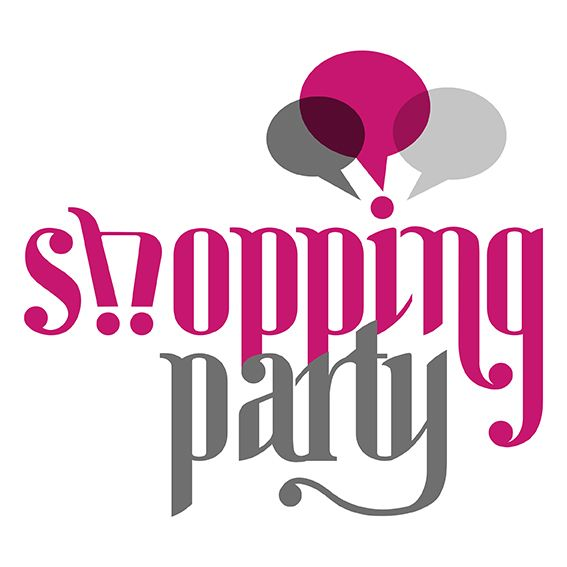 Shopping Party logo on Behance