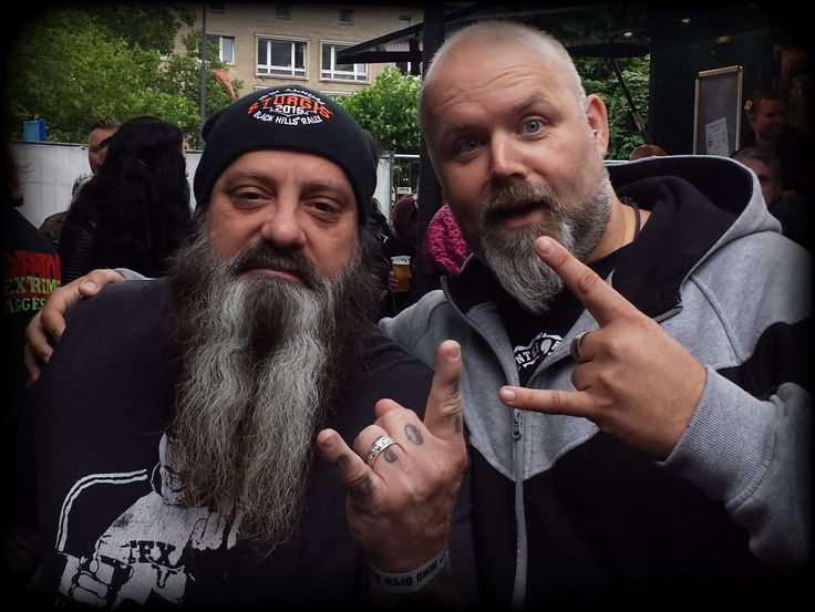 ... with the one and only ... Mr. Kirk Windstein (Crowbar, Down, Kingdome Of Sorrow) @ NORD Open Air (Essen, germany) ... yeah! ...