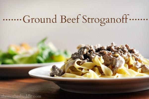 Ground Beef Stroganoff Recipe: Beef Recipes, Worcestershire Sauce, Sour Cream, Loss Recipes, Ground Beef Stroganoff Recipes, Cream Of Mushrooms, Healthy Food, Ground Turkey, Weeknight Meals