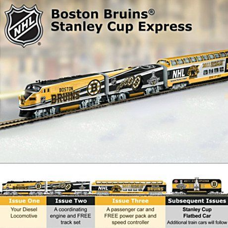 NHL® Boston Bruins® 2011 Stanley Cup Champions Train Collection: Championship Express