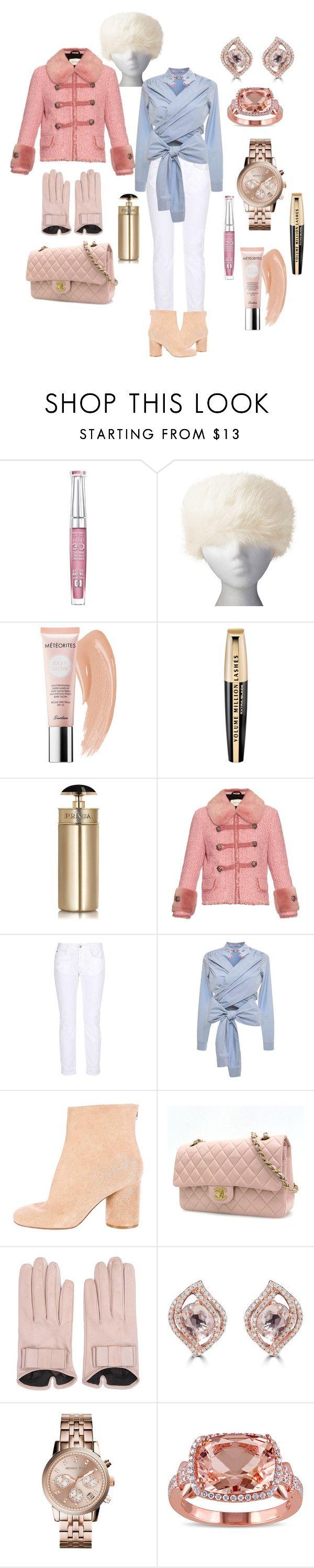 """Office Friday.  Casual Outfit"" by elena-kononenko ❤ liked on Polyvore featuring Bourjois, UGG Australia, Guerlain, L'Oréal Paris, Prada, Gucci, STELLA McCARTNEY, VIVETTA, Maison Margiela and Chanel"