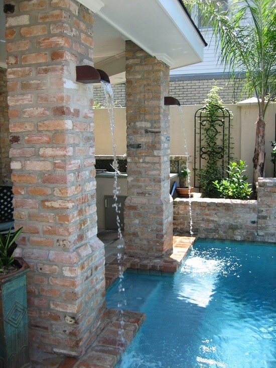 New Orleans Courtyard Pool Design, Pictures, Remodel, Decor And Ideas    Page 51