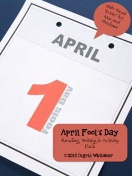 April Fools Day April Fools Day Reading, Writing and Activity Pack is a bundle of activities for spring reading, writing and fun! Do the activities over several days or all in one activity filled day. In this package you get:Two engaging informational texts, carefully researched using multiple sources:An informational text about the history behind April Fools DayA second informational text highlighting the most famous and fascinating April Fools Day pranks.A writing activity in which…