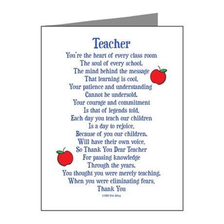 sample thank you letter for teacher appreciation