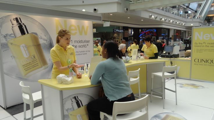 For more info on how we can assist you and your business' events visit us on gl-events.co.za or contact us on +27 11 210 2500  #clinique #mallactivation #brandidentitiy #happy #glevents #gleventssouthafrica