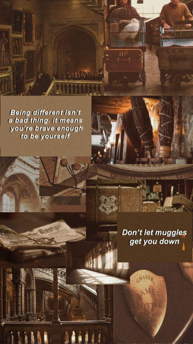 Harry Potter Brown Wallpaper Di 2020