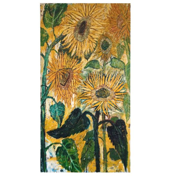 87 Best Images About John Bratby On Pinterest: 17 Best Ideas About Sunflower Paintings On Pinterest