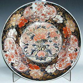 Large Edo Imari Charger c. 1700