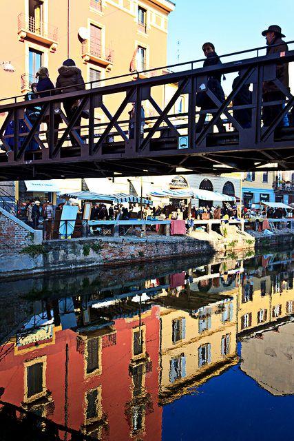 Pont de fer - Milan, Lombardy, Italy