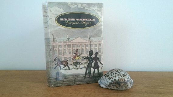 Vintage book: 'Bath Tangle' by Georgette Heyer by freshdarling