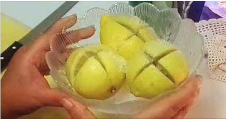 Corte 1 limão desta forma e o que vai acontecer surpreenderá você! | Cura pela Natureza