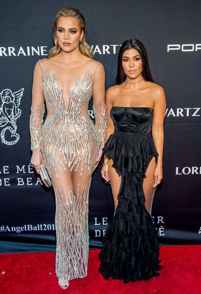 Kris Jenner, Kourtney Kardashian, and Khloé Kardashian stepped out on Monday night to attend Gabrielle's Angel Foundation for Cancer Research's Annual Angel Ball, where the late Robert Kardashian was being honored.