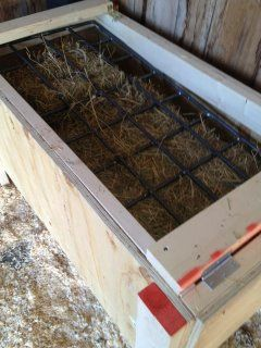 I have really wanted to build one of these for Dolly for almost a year. Slow Hay Feeder | Horse Collaborative plans!