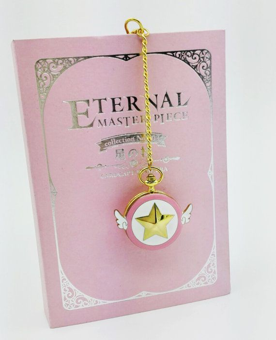 Cardcaptor Sakura Star wand pocket watch. The inside of it is beautiful def check it out on the site *o*