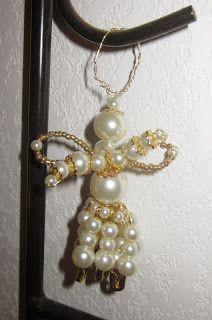 labonoccaz-news: mes dimanche créas # 11 : tuto, petit ange en perle,et autres tutos