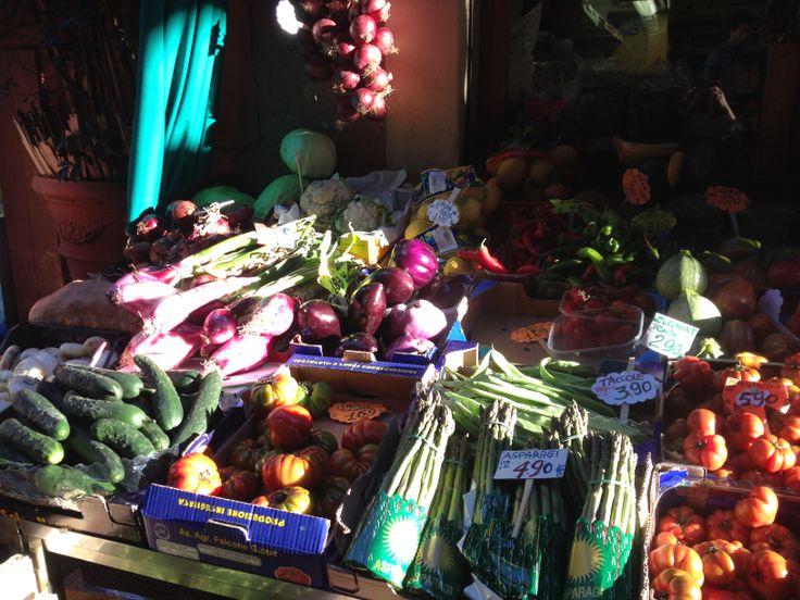 Bologna - the food market