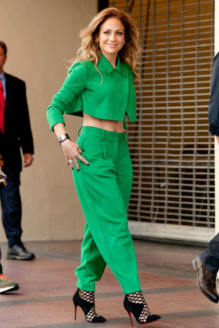 48 Best Images About J Lo Style File On Pinterest David Koma Celebrity And Yellow Leather
