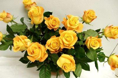 Poze cu buchete de flori pentru mirese, imagini cu trandafiri galbeni pentru oamenii care iubesc natura cu tot ce are ea, O idee cum trebuie sa arate un buchet de flori la nunta ta. wallpaper cu...