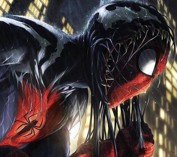 Dripping with Venum-Spiderman