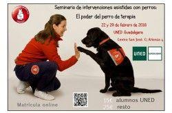 Seminario de intervenciones asistidas con perros: el poder del perro de terapia - http://www.mipuntomap.com/city/guadalajara-spain/event/seminario-de-intervenciones-asistidas-con-perros-el-poder-del-perro-de-terapia/