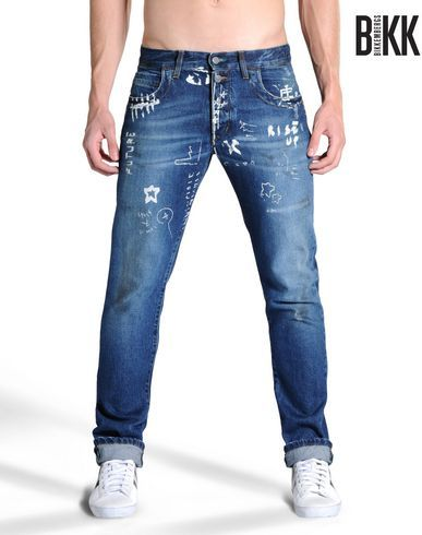 Pantalone jeans Uomo - Abbigliamento Uomo su Dirk Bikkembergs Online Store