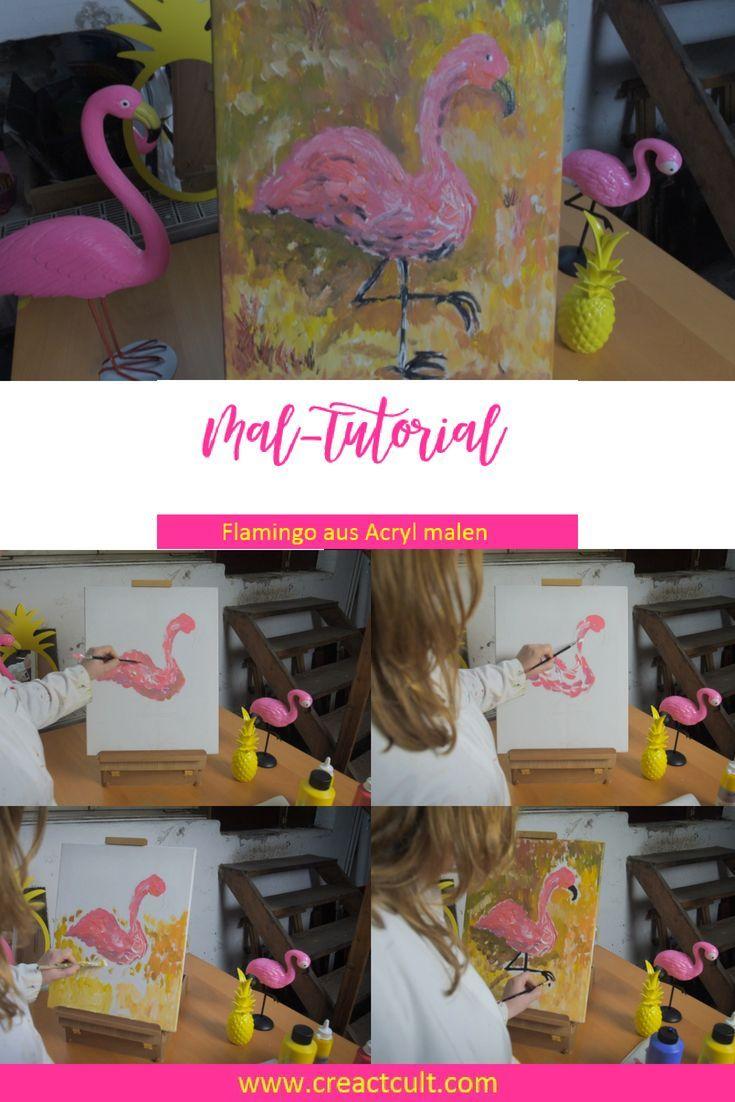 Einfach Malen Lernen Acrylbilder Selber Malen Ist Ganz