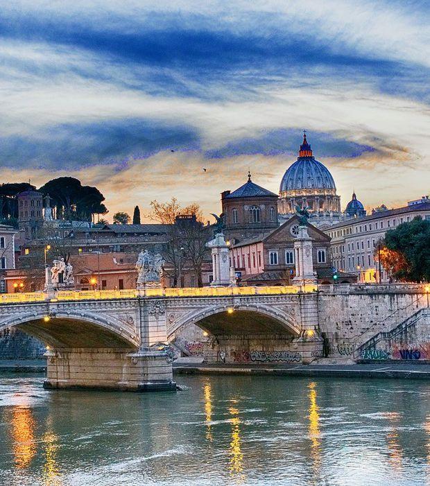 Photo : Septembre : Rome, en moyenne 120€ la nuit en hôtel 4 étoiles