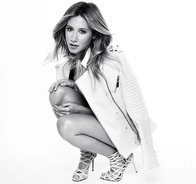 Beautiful @ashleytisdale in the Stassi jacket. Shop:http://buff.ly/1k9ymix
