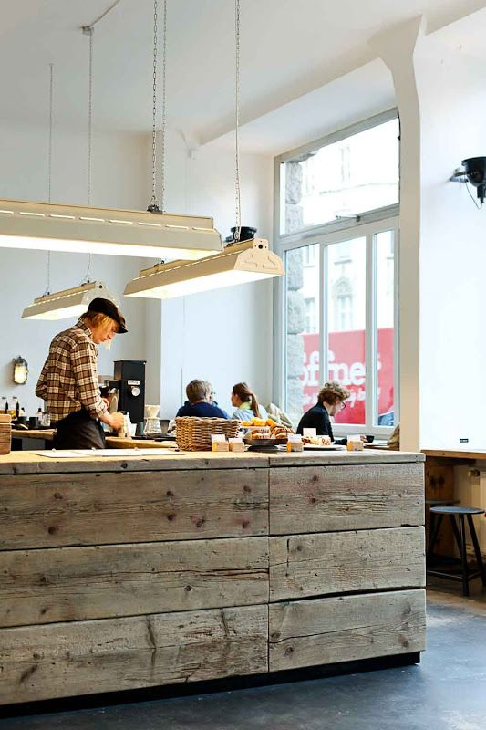 Stil in Berlin — Coffee in Berlin: The Barn Roastery #Interiors