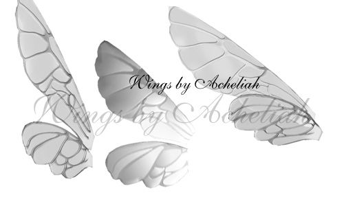 Fairy Wing Photoshop brushes