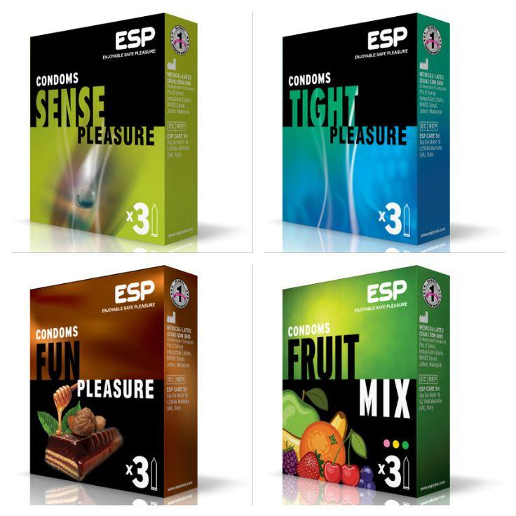 SENSE pleasure TIGHT pleasure FUN pleasure FRUIT mix