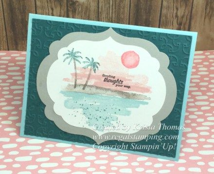 Waterfront stamp set, 2018 Stampin' Up Occasions Catalog