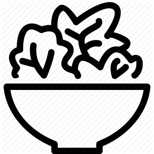 bowl, green, health, healthy, salad, vegetable icon