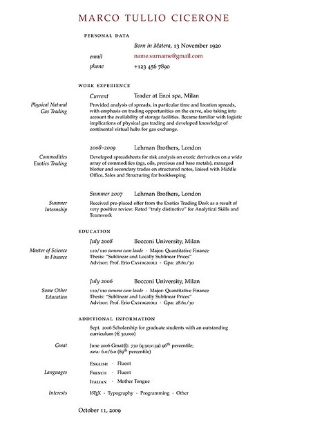 Top Essay Writing  Academic Cv Latex Template Free