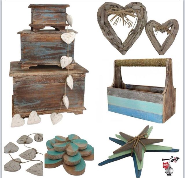 Handcrafted wood and driftwood decor available at www.melroseplacehomewares.com.au
