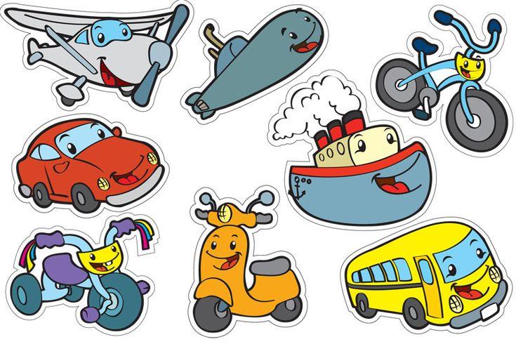 medios de transporte para niños - Buscar con Google