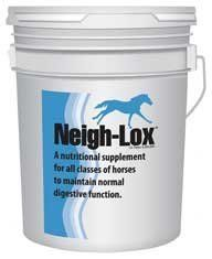 Kentucky Performance Neigh-Lox 25 lb by Kentucky Perofrmance. $138.95. Kentucky Performance Neigh-Lox(R) Neigh-Lox(R) helps support normal digestive function in all horses by reducing the stomach discomfort often experienced by stressed horses. It contains coating agents that quickly neutralize excess gastric secretions and protects the non-glandular portion of the stomach and helps promote a normal gastric environment. Features: Can be given to horses of all ages, from weanli...